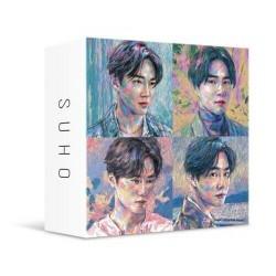 EXO CBX BLOOMING DAYS 2 -versiosarja CD, jne., Valokuvakortti, Store Gift