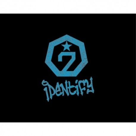 got7 identify 1st album original ver cd ,photo book,1p polaroid card