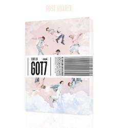 got7 lidojumu žurnāla izbraukšana 5. mini albums r ver cd, foto grāmatu utt