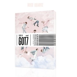 got7 vluchtlogboek vertrek 5e mini album r ver cd, fotoboek, enz