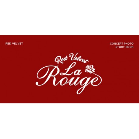 red velvet la rouge 3rd concert 166p photo story book