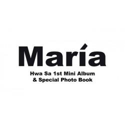 mamamoo gelbe Blume 6. Minialbum CD Broschüre Fotokarte