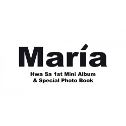 mamamoo gele bloem 6e mini-album cd-boekje fotokaart