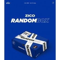 zico random box 3rd mini album cd