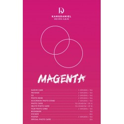 wanna one kang daniel magenta 2nd mini album