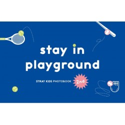 stray kids stay in playground 2nd photo book dvd