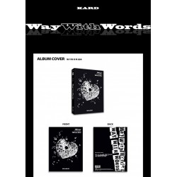 kard way with words 1st single album cd
