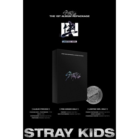 stray kids in life 1st regular album repackage limited