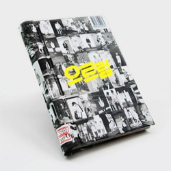 exo xoxo kiss korea ver 1 album, ompakning cd, fotobog