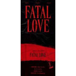 monsta x fatal love 3rd regular album cd