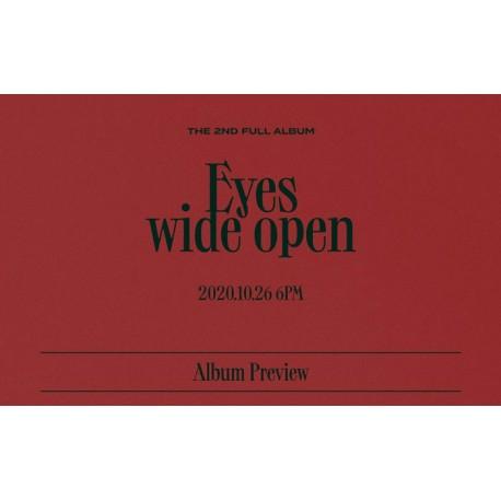 twice eyes wide open 2nd album cd