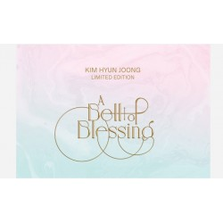 ss501 kim hyun joong a bell of blessing limited edition cd