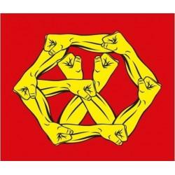 exo la guerra el poder de la música 4to reenvasado cd chino, cómics, tarjeta, regalo de la tienda