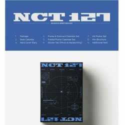 nct127 2021 seasons greetings calendar