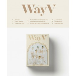 wayv 2021 seasons greetings calendar