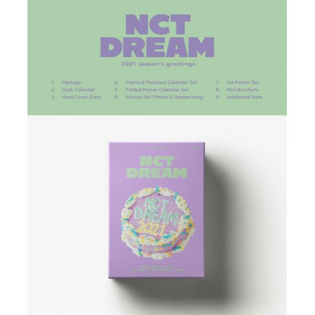 nct dream 2021 seasons greetings calendar