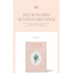 weki meki 2021 seasons greetings calendar