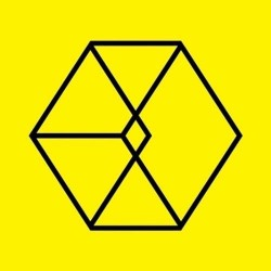 exo love me right 2-й альбом repackage korean ver cd, card, 72p photo book