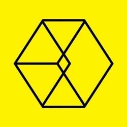 exo mencintaiku kanan album ke-2 repackage korean ver cd, card, 72p photo book