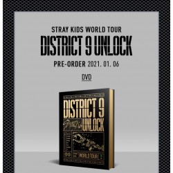 stray kids world tour district 9 unlock in seoul dvd