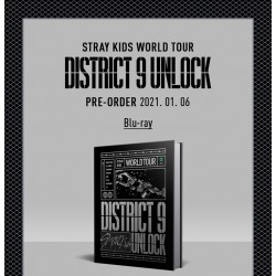stray kids world tour district 9 unlock in seoul blu ray