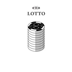 exo lotto 3. album přebalit korean ver cd, fotoalbum, karta