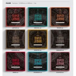 EXO CBX BLOOMING DAYS 2 Versione set CD, ecc., Cartolina fotografica, Regalo negozio