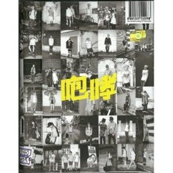 exo xoxo hug china ver 1 ° album reimballare album fotografico