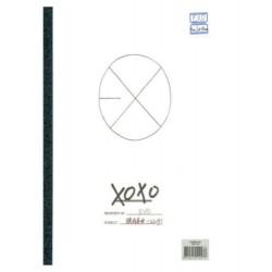 exo vol1 xoxo hug verzió 1. album cd fotó kártya