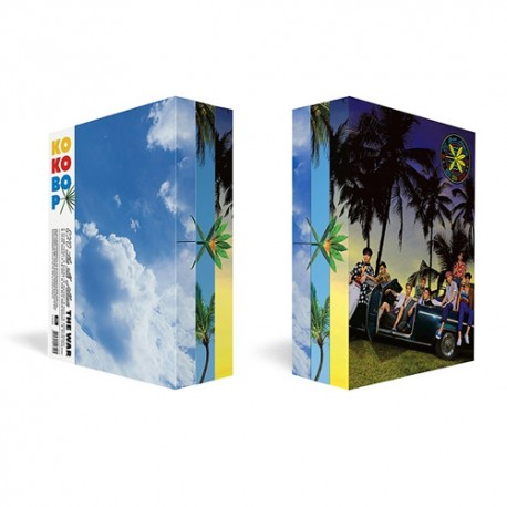 exo the war 4th album chinese random ver cd photo book photo card store gift