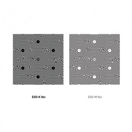 exo m overdose 2. mini album chinese ver cd, knjižica, foto kartica