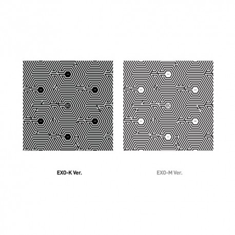 exo m üleannustamine 2. mini album chinese ver cd, voldik, foto kaart