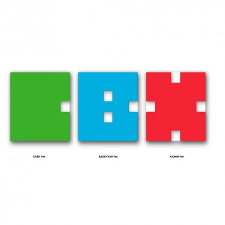 exo cbx hei mama 1. mini albumi CD