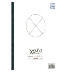 exo vol1 xoxo kiss verzija 1. album cd foto kartica