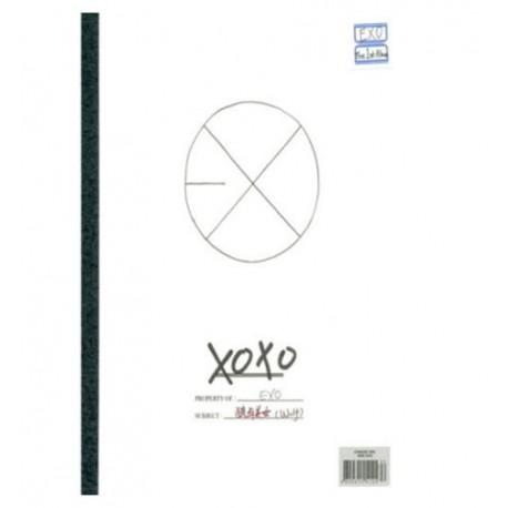 exo vol1 xoxo kiss version 1st album cd photo card