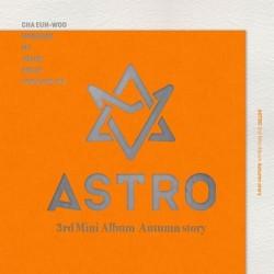 astro autumn story 3 ° mini album random ver cd book fotografico card