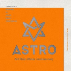 astro autumn story 3rd mini album random ver cd photo book card