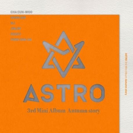 astro autumn story 3 ° mini album
