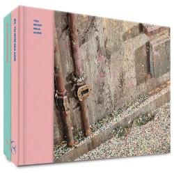 BTS vlerke jy loop nooit alleen album 2 ver stel CD fotoboek 2p staande kaart