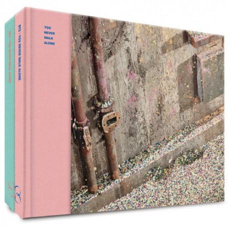 bts wings you never walk alone album 2 ver set cd photobook 2p standing card