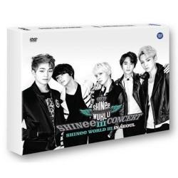 Shinee 3. koncerts dvd shinee pasaule iii seulā 2 disks