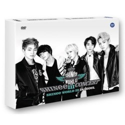 Shinee 3. konsert DVD Shinee World III i Seoul 2 Disc