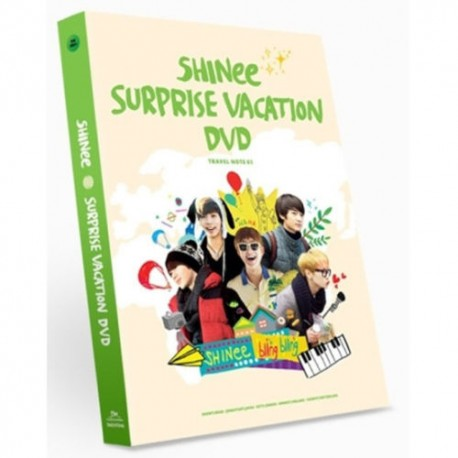shinee surprise vacation dvd 6 disc