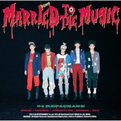 shinee married to the music vol4 4th album repackage cd