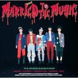 Shinee одружений на музиці vol4 4-й альбом упаковки CD