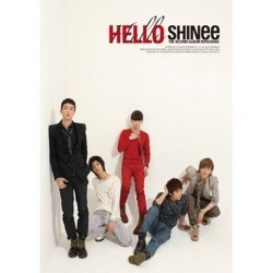 shinee hallo 2. Repackage Album CD Fotobroschüre