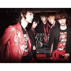 shinee 3ème mini album 2009 année de nous