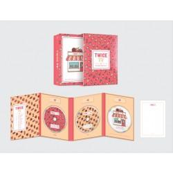 dos veces dos tv4 edición limitada dvd 3 disco tarjeta postal libro de fotos dos veces tt