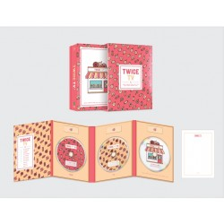 twice twice tv4 limited edition dvd 3 disc post card photo book twice tt