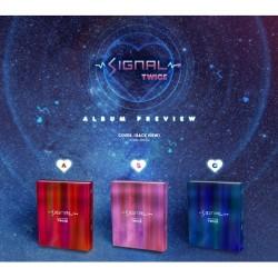 dvakrát signál 4th mini album náhodný ver cd fotokniha fotografická karta speciální fotografická karta